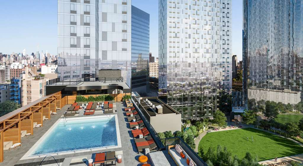 Long Island City's Jackson Park will feature two pools, full-size basketball court, and a 1.6-acre park