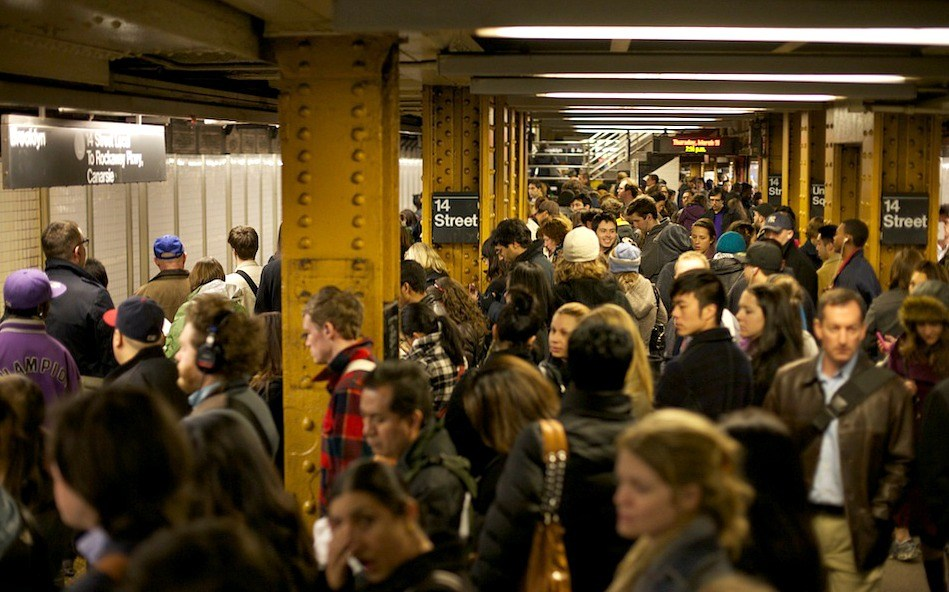 Signal problems delayed the subway every weekday morning in August except one