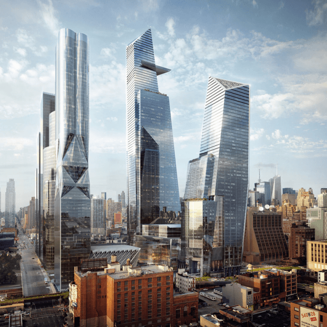 Frank Gehry and Santiago Calatrava to design Hudson Yards residential towers