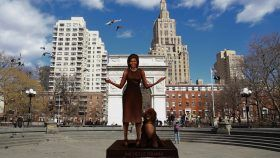michelle obama, sculpture, Gillie and Marc