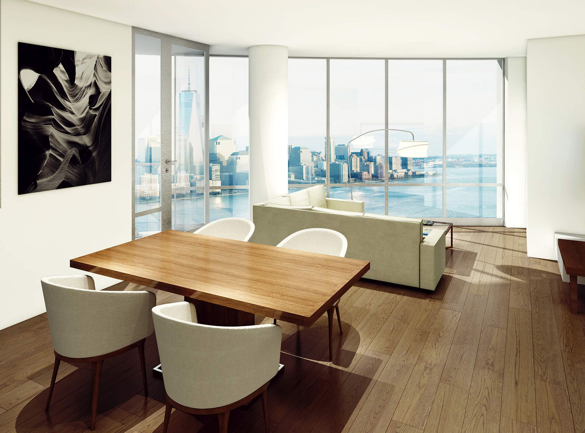 11k month ellipse tower penthouse is now jersey city s for 41 river terrace manhattan