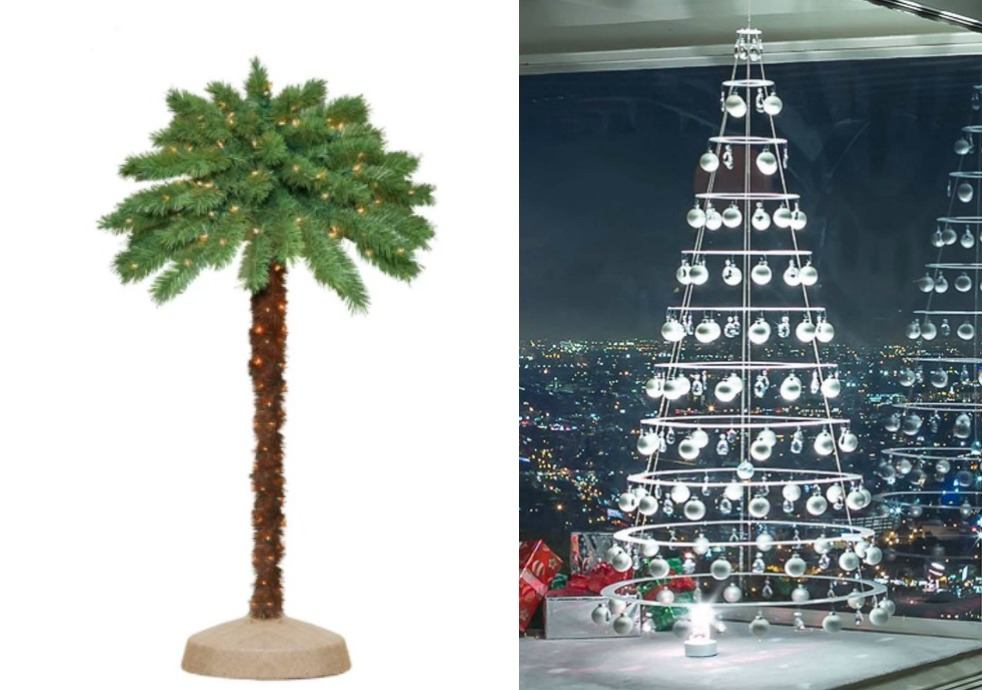 15 Alternative Christmas Trees That Fit Your Decorating