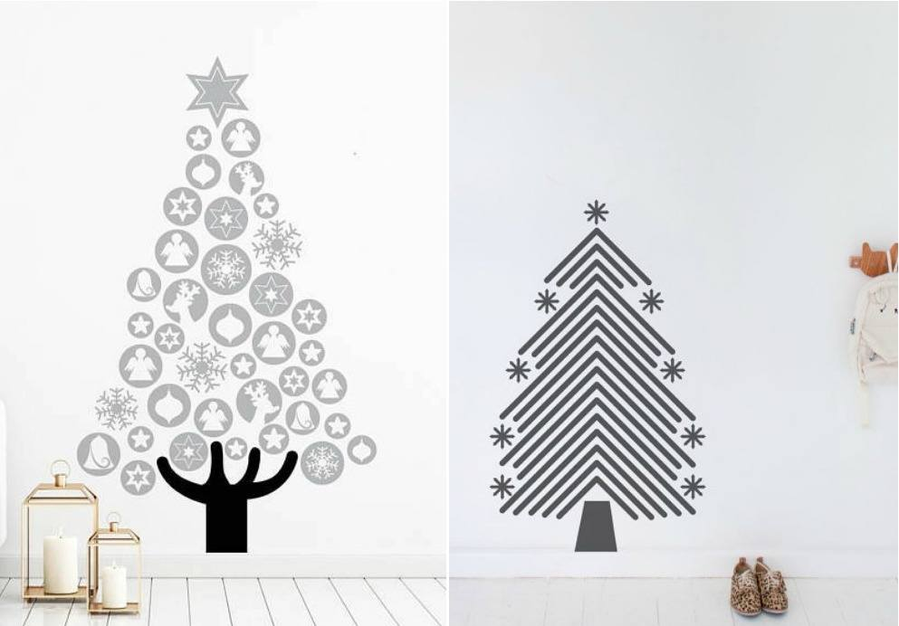stencil trees from vinyl design via etsy