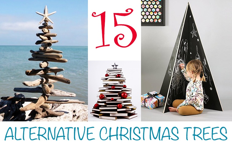 Christmas Tree Alternative.15 Alternative Christmas Trees That Fit Your Decorating