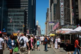 street fair, NYC, street festivals