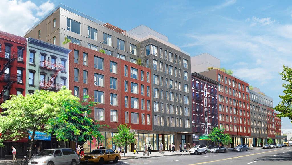 500-524 East 14th Street, Target, Extell Development
