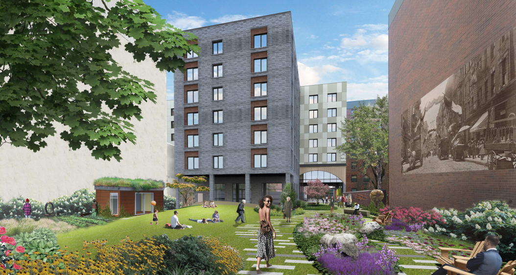 City will replace Nolita's Elizabeth Street Garden with 121 affordable apartments for seniors