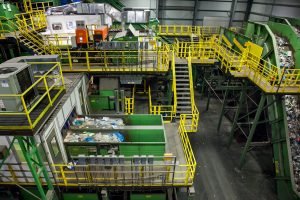 Sims Municipal Recycling Facility, Sunset Park, recycling plants, NYC recycling