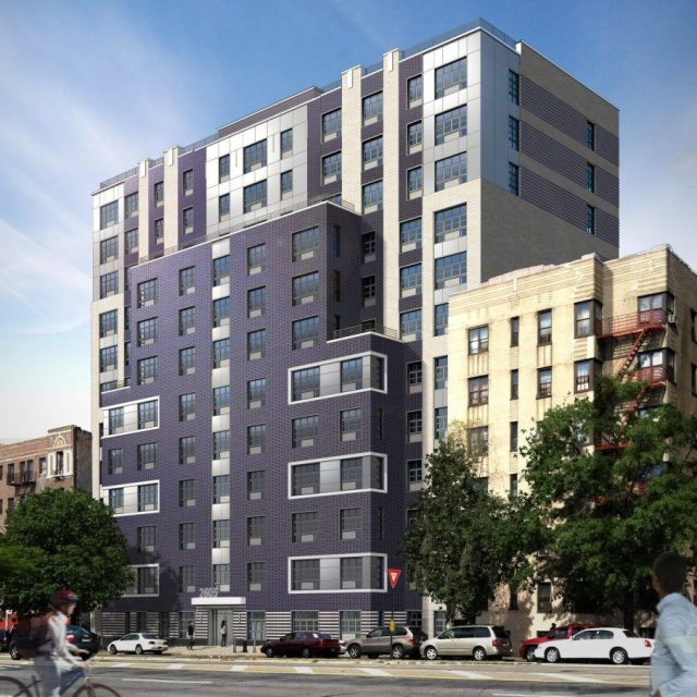 Apply for 93 low- and middle-income apartments along the Grand Concourse from $822/month