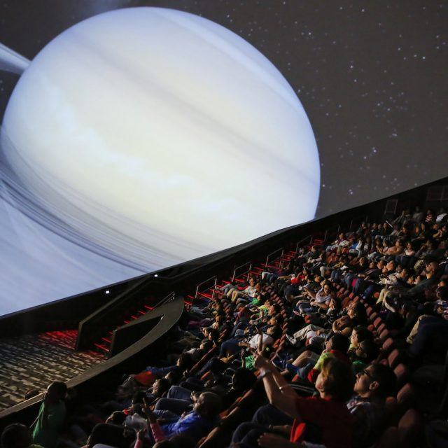 Visit the country's biggest planetarium at Jersey City's Liberty Science Center