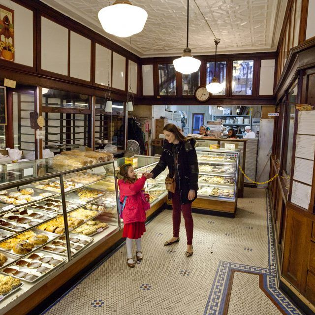 The full interior of 116-year-old Glaser's Bake Shop is for sale
