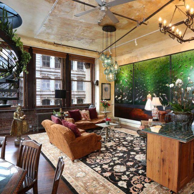 $6.25M Flatiron loft's bohemian-luxe style reflects its owner's international flair