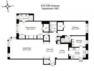 875 fifth avenue, michael lorber, douglas elliman