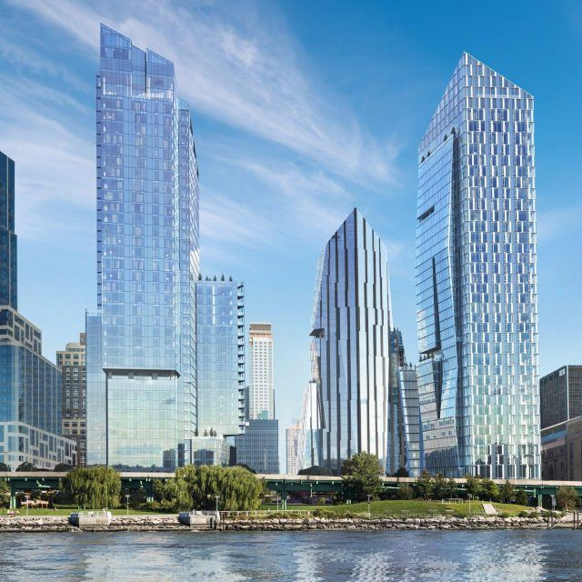 Waterline Square mega-development tops out on the Upper West Side