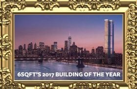 one manhattan square, building of the year, 6sqft building of the year