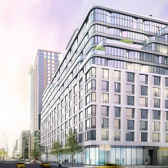 Apply for a mixed-income unit at CetraRuddy's Hell's Kitchen rental, from $596/month