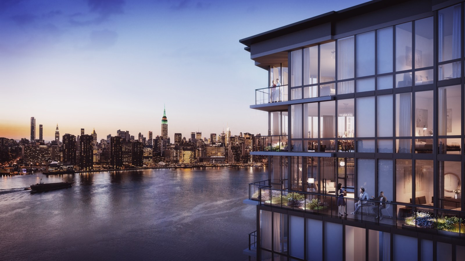 the greenpoint, brooklyn, waterfront development