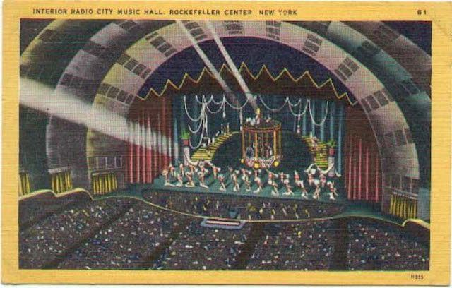 radio city music hall, opening night, radio city music hall history