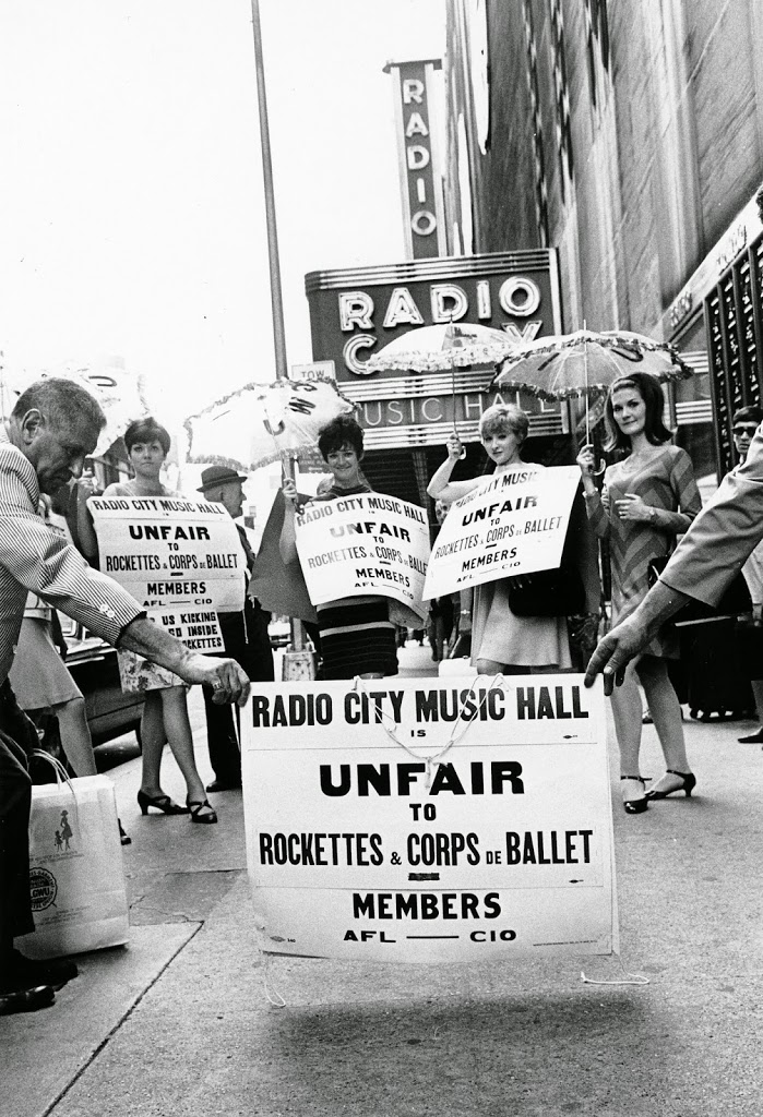 rockettes, rockettes history, rockettes on strike