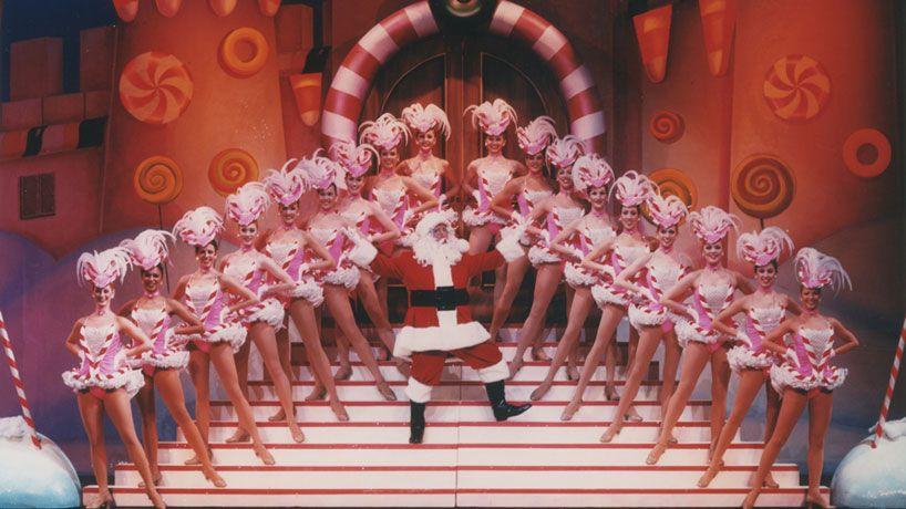 rockettes, new york city rockettes, rockettes history, christmas rockettes, santa rockettes