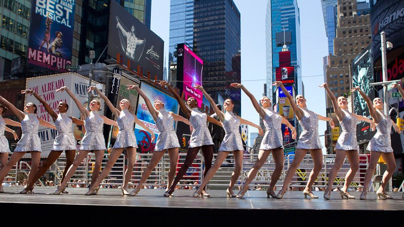 the rockettes, rockettes history