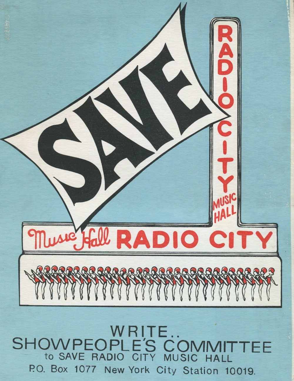 rockettes history, rockettes, radio city landmark, save radio city