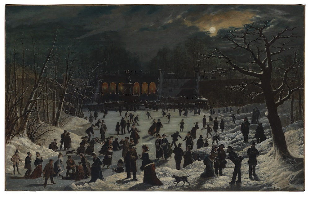 Ice skating, Museum of the City of New York