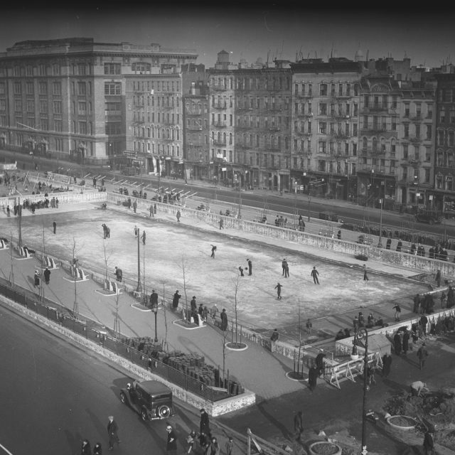 The Urban Lens: The Museum of the City of New York looks back at NYC ice skating over the centuries