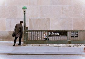Subway entrance