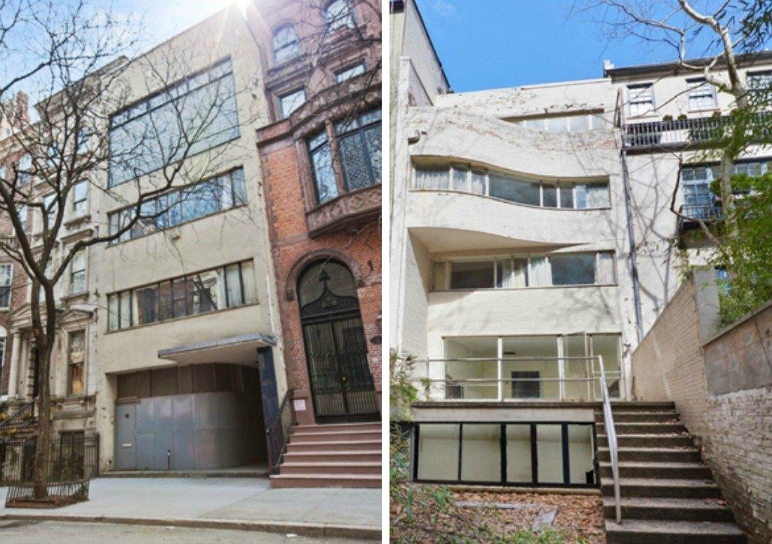 William Lescaze U0026 39 S Modernist Upper East Side Townhouse Asks