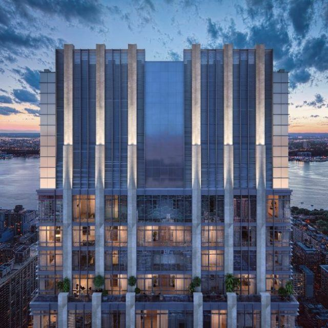 Nearing pinnacle, disputed 668-foot Upper West Side tower gets city board approval