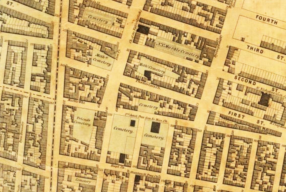One Little West 12th Street Subway Map.What Lies Below Nyc S Forgotten And Hidden Graveyards 6sqft