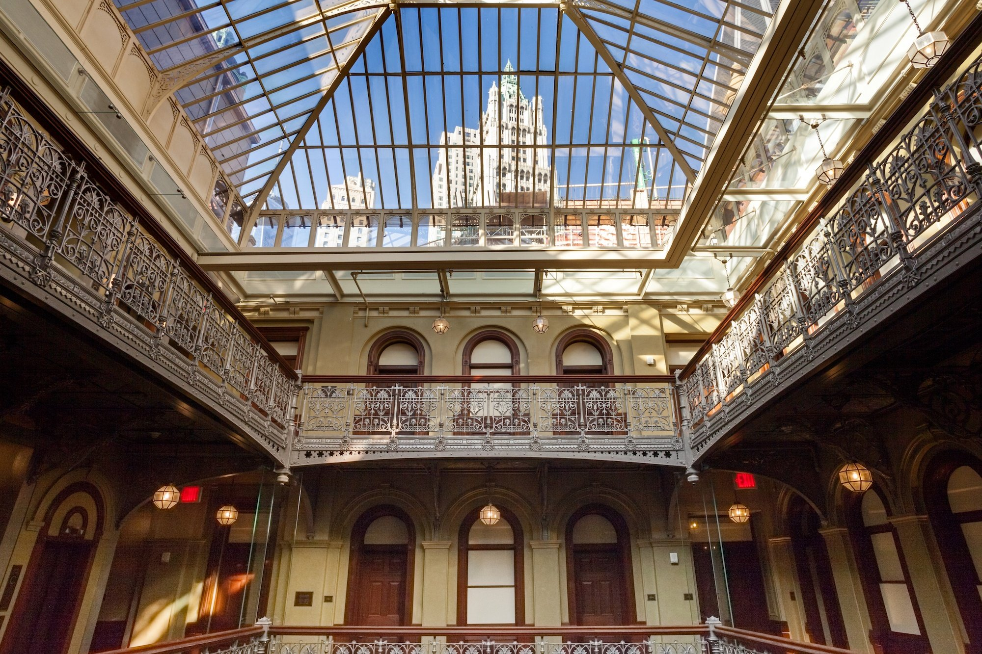 Temple Court, The Beekman, 123 Nassau Street, 5 Beekman Street, James and Karla Murray