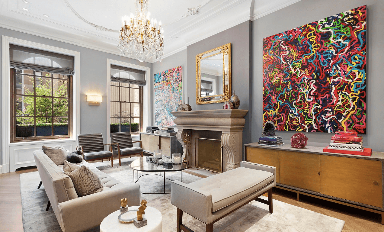 The 1883 Upper East Side Residence Recently Received A Thoroughly Modern Renovation That Elevated Homes Historic Charm To Wow Levels