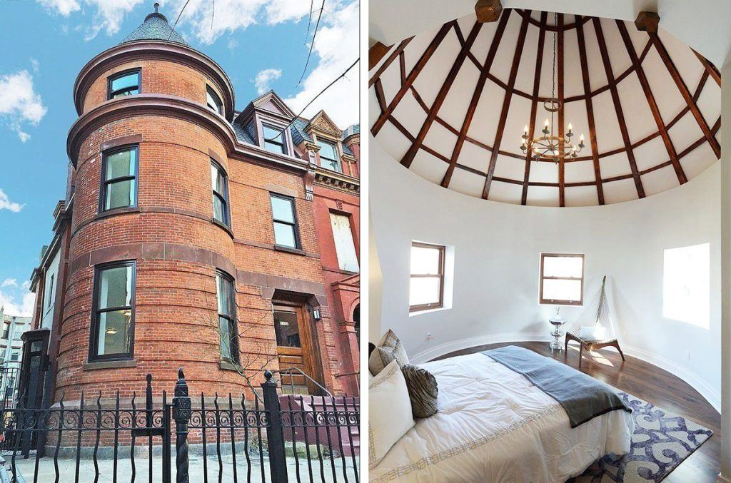 Live Inside A Castle Like Turret In Crown Heights For
