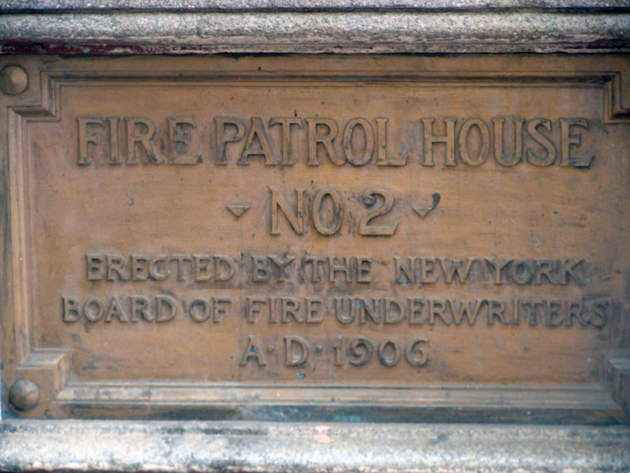 Fire Patrol House #2: From Benjamin Franklin's fire