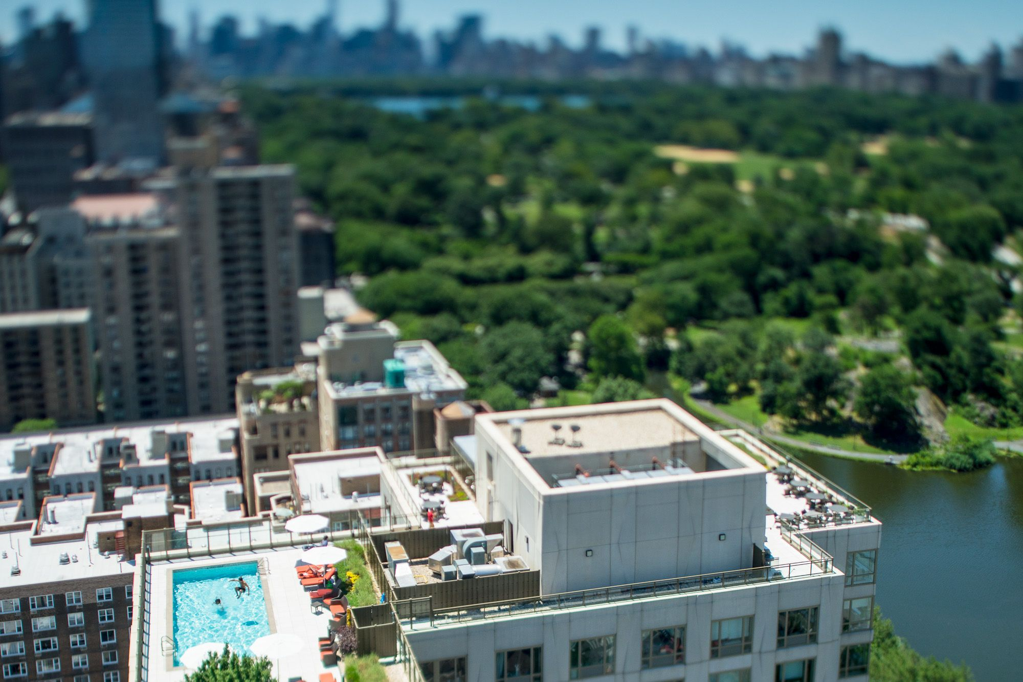 New York Resized, Jasper Leonard, tilt-shift photography, NYC aerial photography