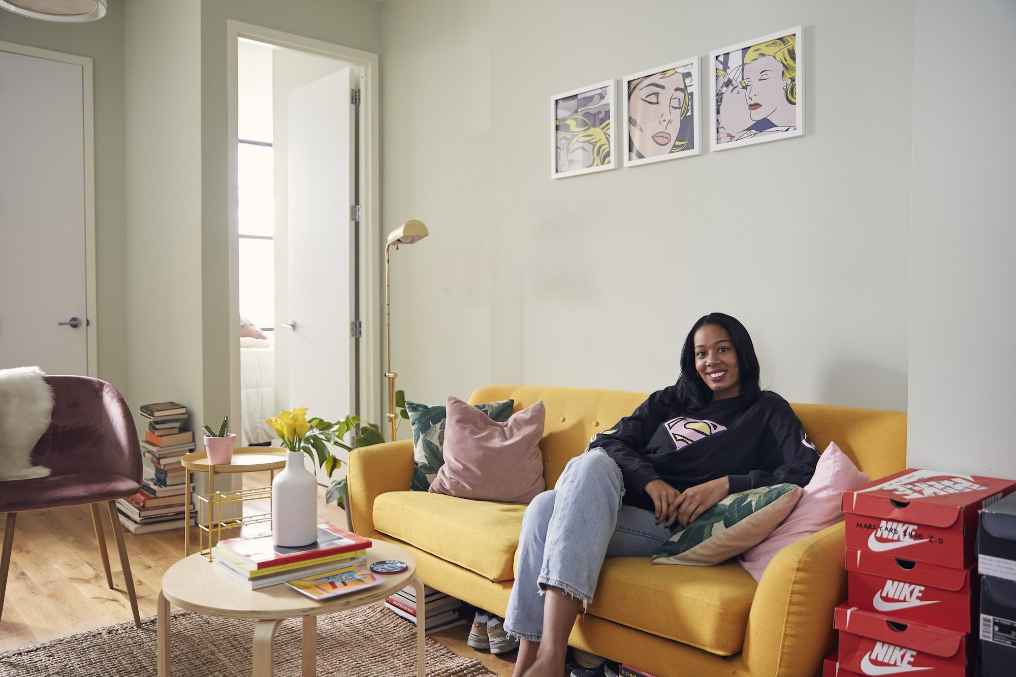 My 500sqft: An advertising strategist perks up her Bushwick pad with ...