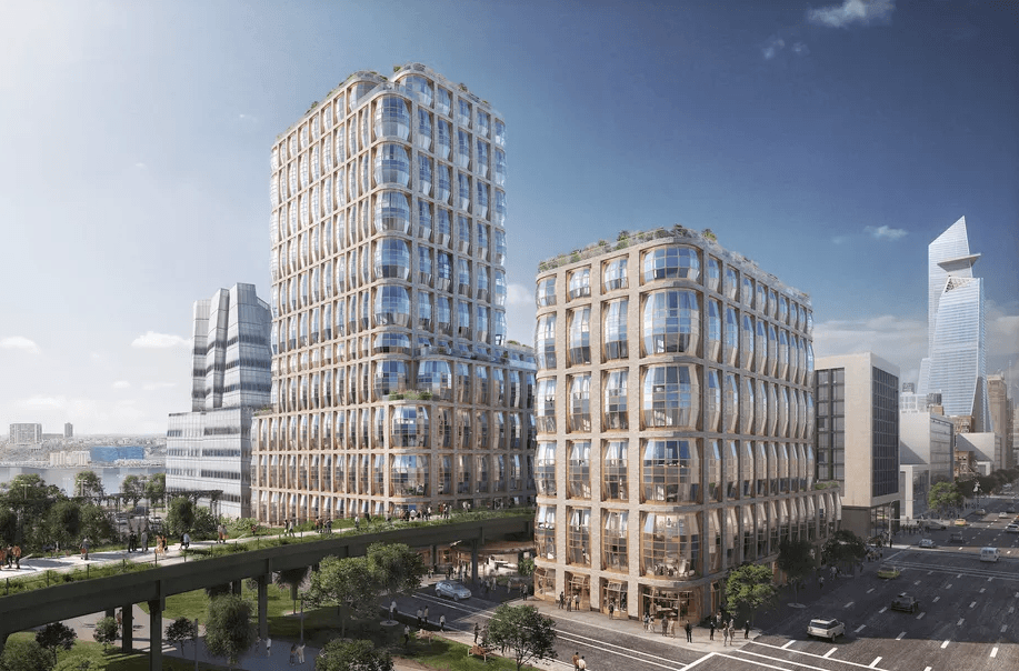 thomas heatherwick designs two bubbled condo towers for related s
