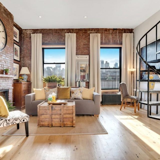 For $1.15M, this little Upper West Side condo has a private rooftop that's almost twice its size