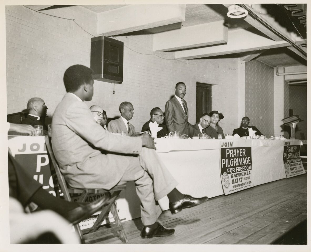MLK Day, Martin Luther King Jr., MCNY