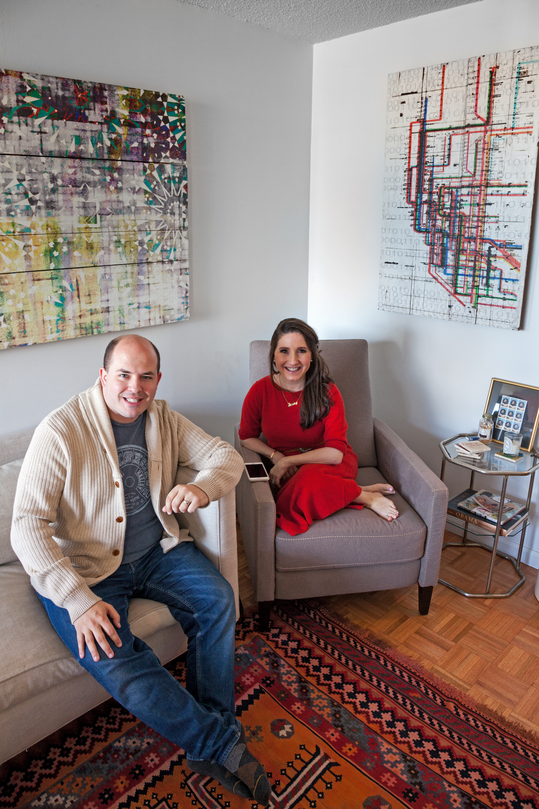My 700sqft News Anchors Jamie And Brian Stelter Open Up