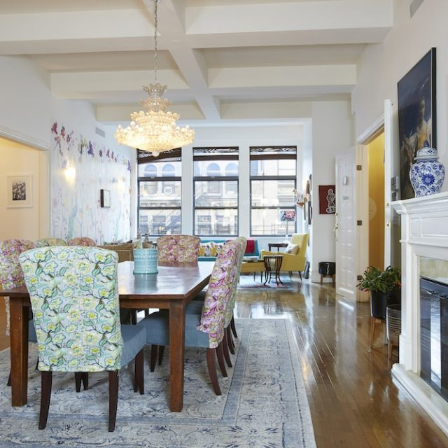 Colorful Gramercy loft with 17 windows and a private elevator entry asks $5.5M