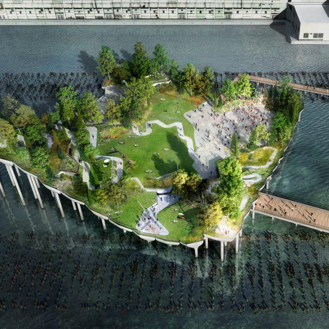 After funding lawsuit against Pier55 offshore park, Durst joins board of Hudson River Park Trust