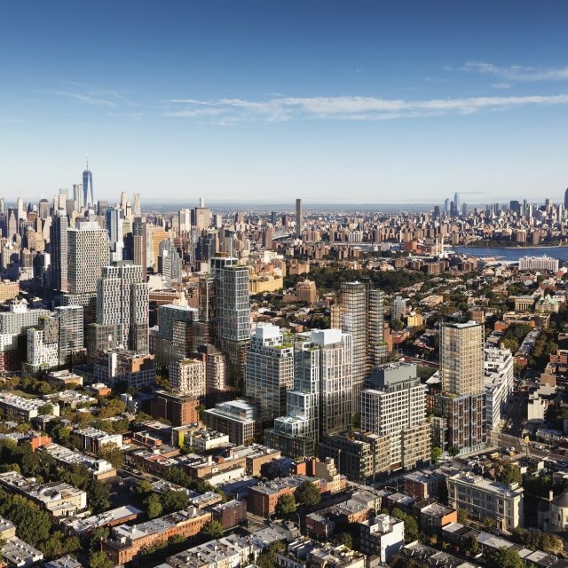 New rendering shows how Pacific Park is changing Brooklyn's skyline; tallest tower on the way