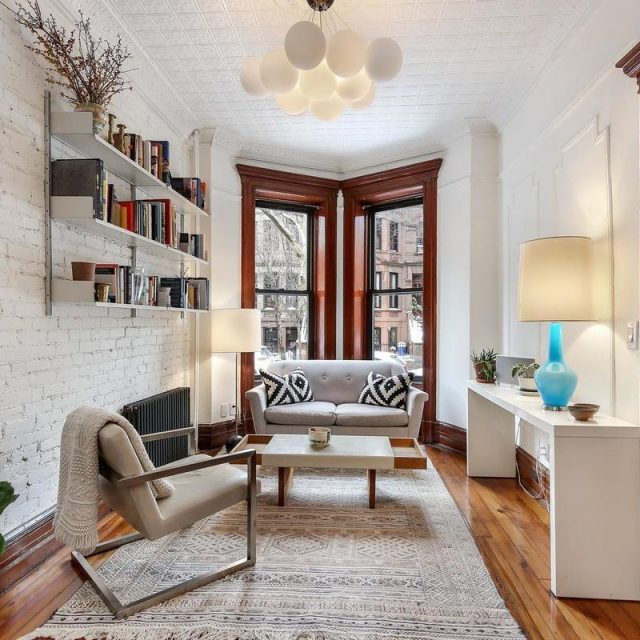 For $1.3M, this South Slope duplex has lots of options and a private patio
