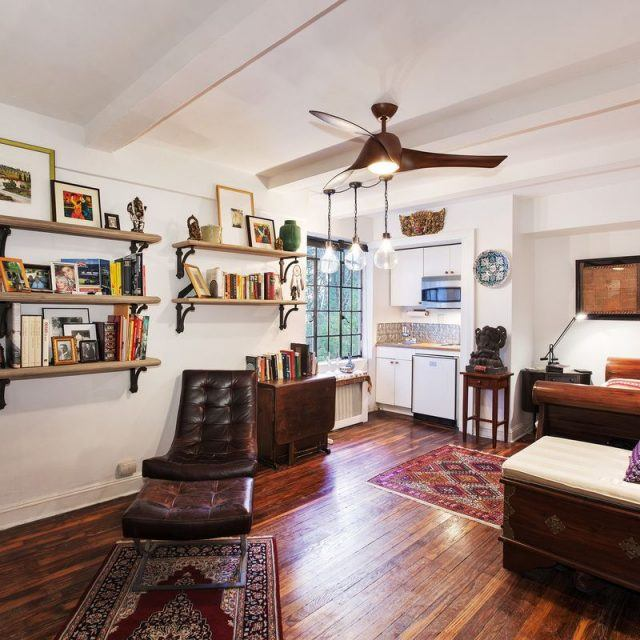 $329K Tudor City studio packs a punch with charming prewar details