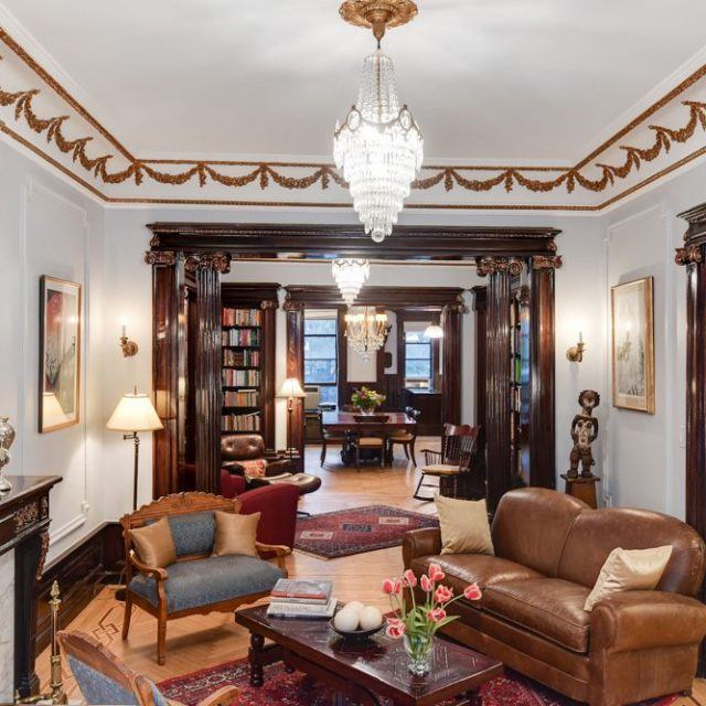 Lavish Renaissance Revival brownstone just outside Prospect Park asks $6M