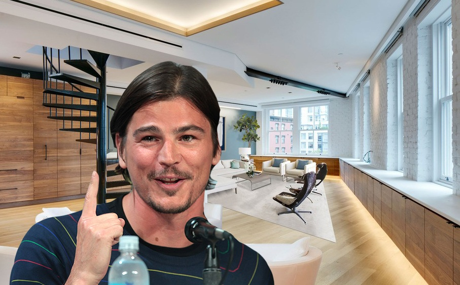 Josh Hartnett's Tribeca penthouse just sold for $3.55M
