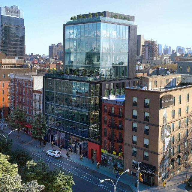 This boxy glass tower will replace the Lower East Side's Sunshine Cinema
